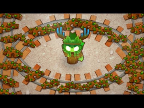 Using The 5th Tier Spirit Of The Forest - How Strong Is It? (Bloons TD 6)
