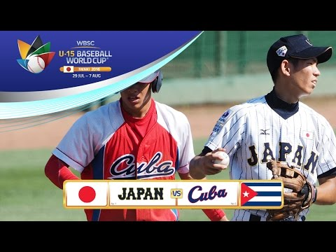 Highlights: Japan v Cuba - World Championship Final - U-15 Baseball World Cup 2016 Final