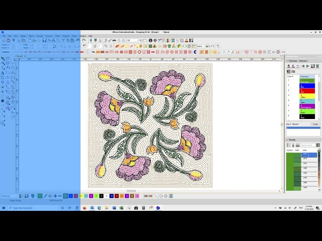 Organic stitching with EmbroideryStudio e4.5