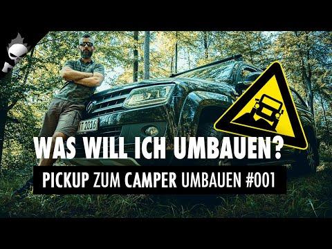 VW AMAROK als 4x4 OFFROAD OVERLAND Van oder PREPPER BUGOUT VEHICLE – Abenteuer Amarok #001