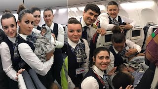 Jet Airways gives Free Lifetime Pass for Baby born in Flight | Super JetAirways