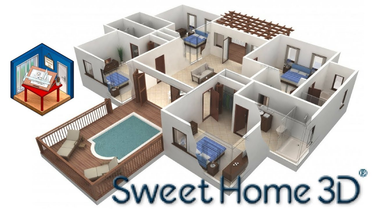 Projetar casa apartamento em 3d sweet home 3d for Sweet home 3d arredamento