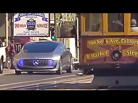 Mercedes Self Driving Car Testing San Francisco Autonomous Car Real World Video CARJAM TV HD 2016