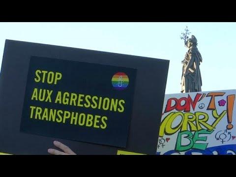 euronews (en français): Une manifestation pour dire stop aux agressions homophobes