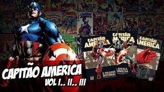 [Central HQs] Especial Capitão América (Deluxe vol 1, 2 e 3)
