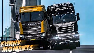 EP.#18 - Funny & Random Moments - Euro Truck Simulator 2