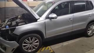 Авто из США ремонт под ключ. Tiguan. Часть 1 - Процесс пошёл! Общий обзор авто.