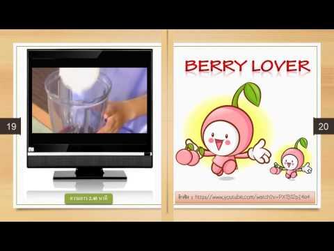 ตัวอย่าง E-book น้ำผักและผลไม้เพื่อสุขภาพ