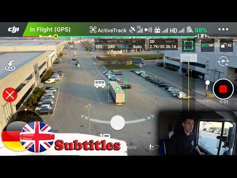 Kamionos drónfelvételek Így készült