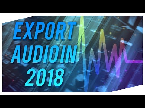 How to Export Audio with Audacity 2017