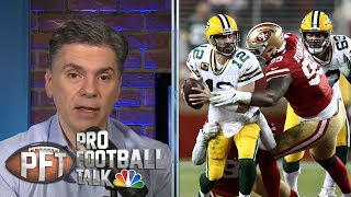 Rematch Revisited: Green Bay Packers must slow 49ers' pass rush | Pro Football Talk | NBC Sports