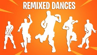 Fortnite Dances BUT They Are Remixed