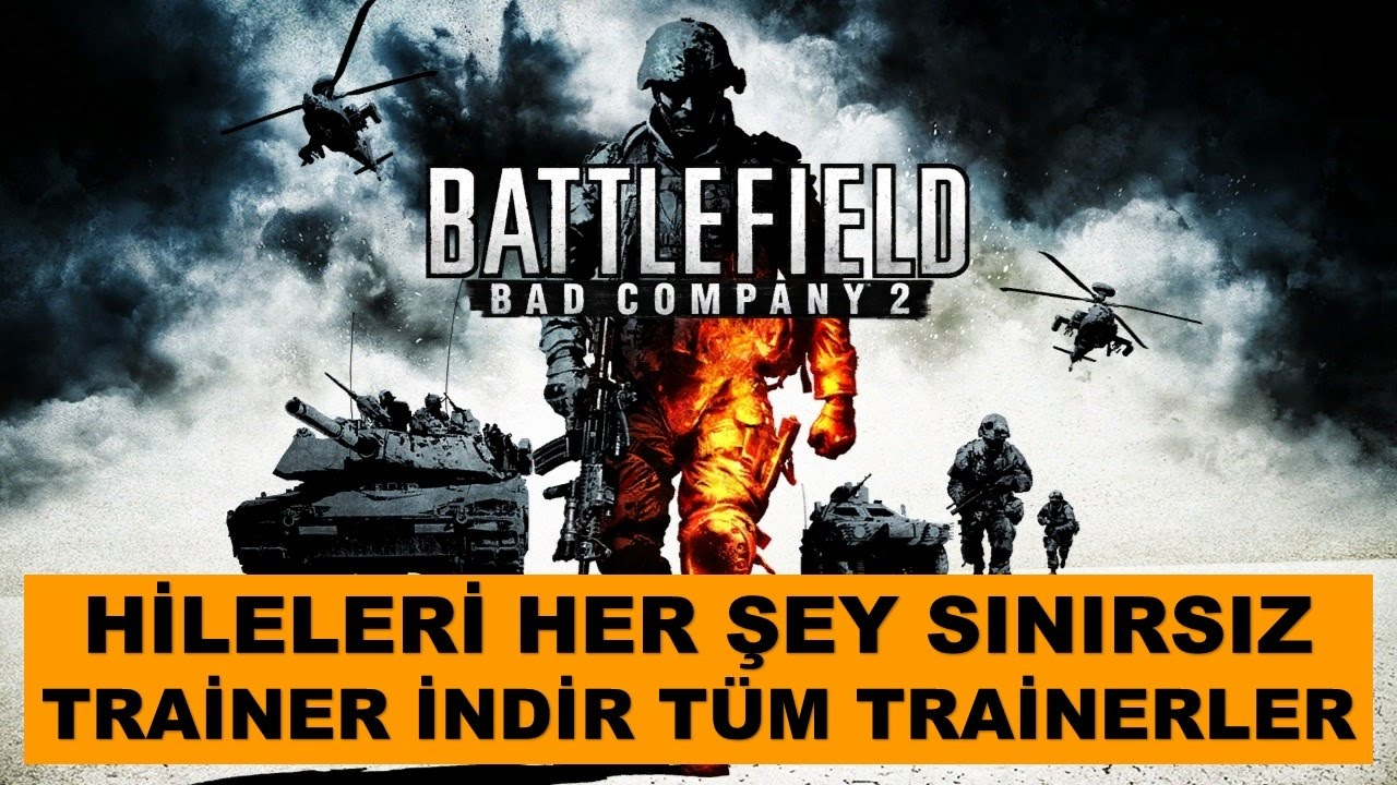 Battlefield Bad Company 2 Hile Trainer Her Sey Sinirsiz Youtube