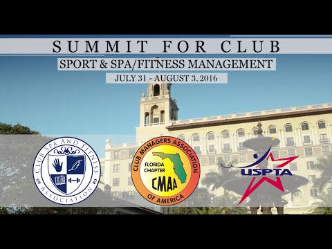 2016 Summit for Club Sports & Spa/Fitness Management Conference