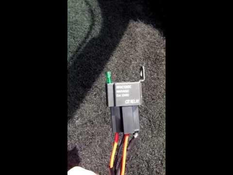 hvac electrical hookup