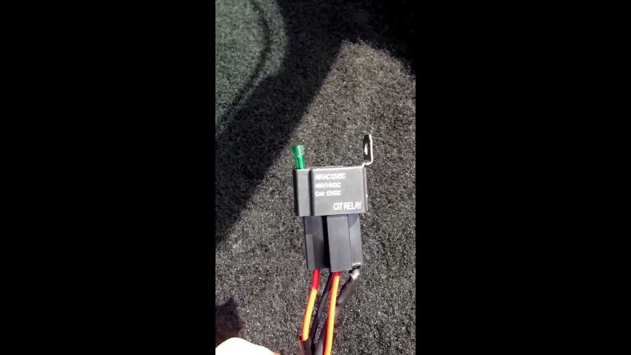 How To Wire A Relay The Easy Simple Way Youtube Wiring Up 12v