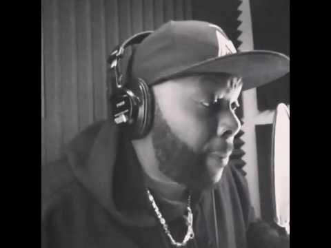 Atlanta based artist - Lo Diesel in the studio