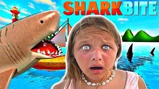 SHARK BITE!!! ESCAPE THE ROBLOX SHARK !