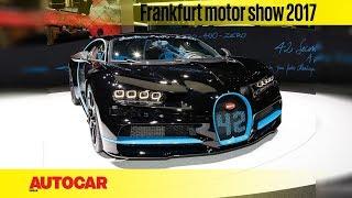 Bugatti Chiron   Walkaround   Frankfurt Motor Show 2017   Autocar India