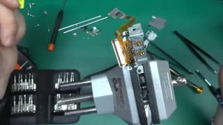 DIY microscope - mobile phone and DVD RW drive hack
