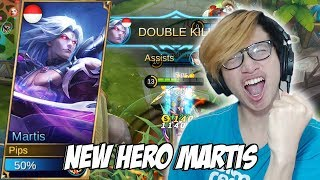 NEW HERO MARTIS FIGHTER MAMANG ASHURA KING MOBILE LEGENDS INDONESIA