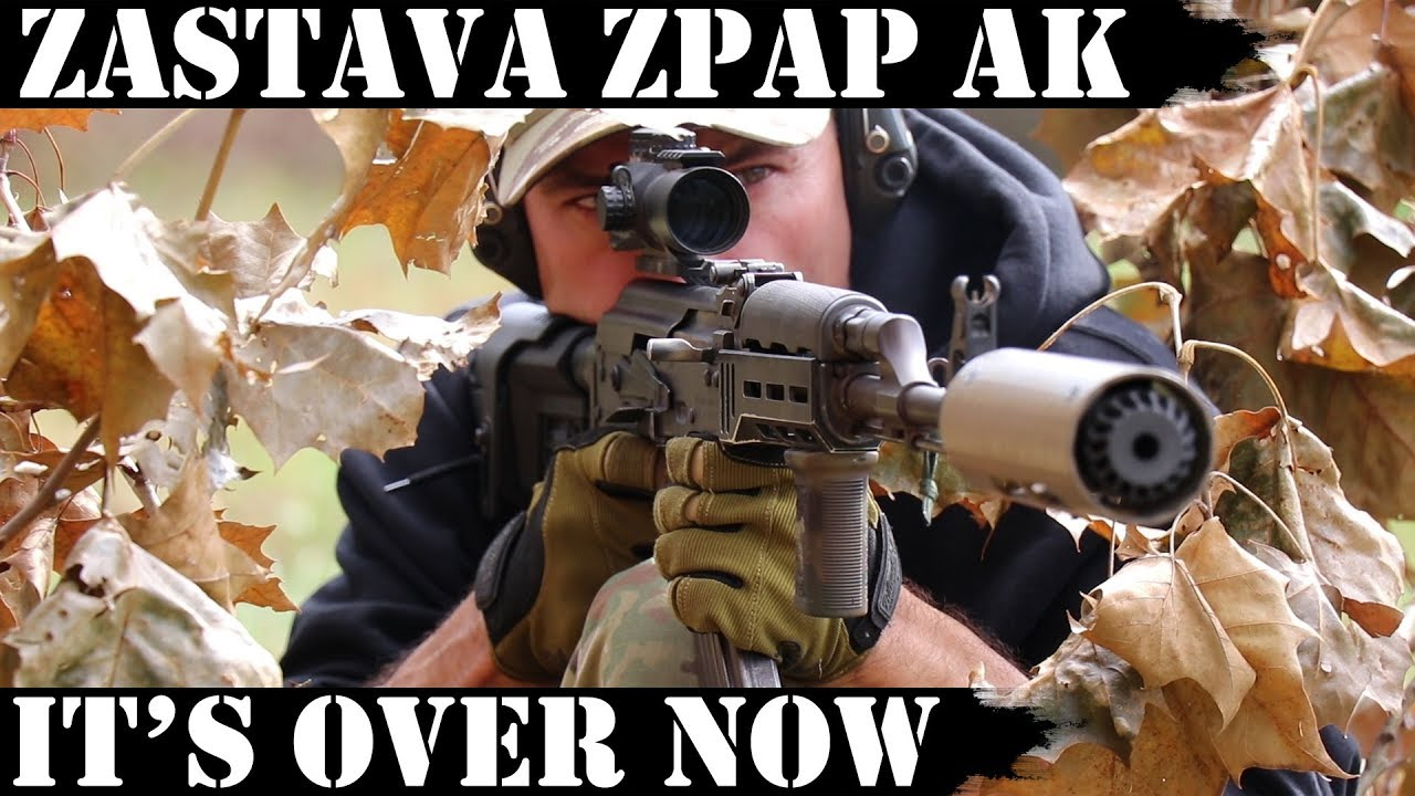 Zastava ZPAP AK: It's Over Now! 5000 rds Later!
