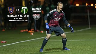 Real Salt Lake vs. Portland Timbers | Preseason | Feb. 23, 2019