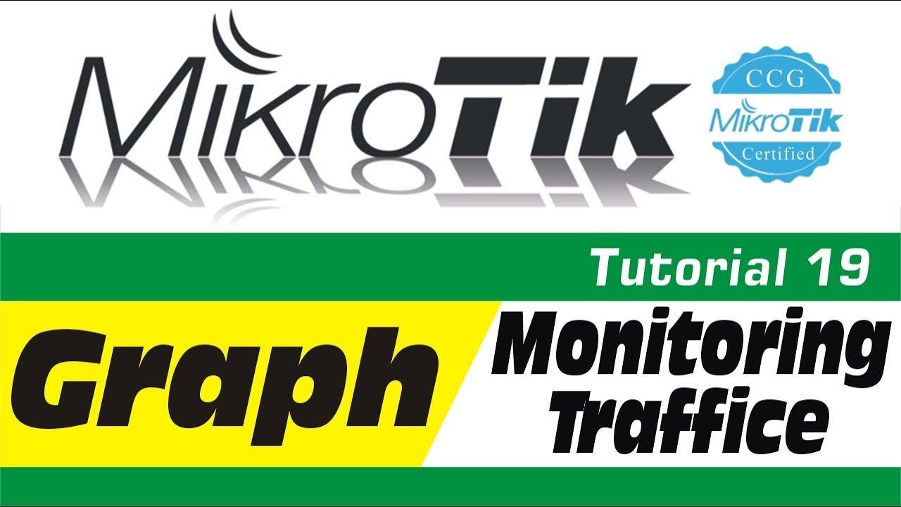 MikroTik Tutorial 19 - Mikrotik How to Create Graph Monitoring Traffic