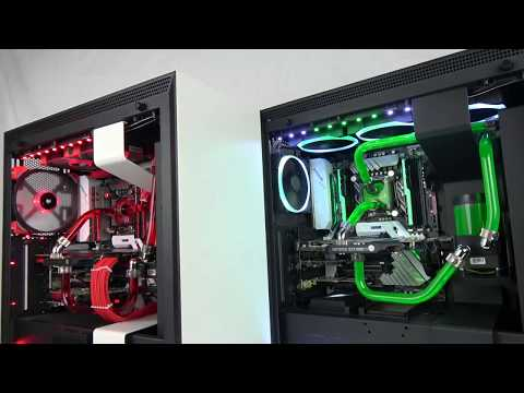 2x NZXT H700i Liquid Cooled Gaming PC! (4K)