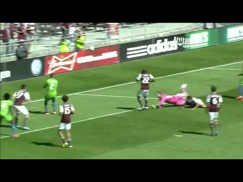 GOAL: Marco Pappa chips in a beautiful finish   Colorado Rapids vs. Seattle Sounders