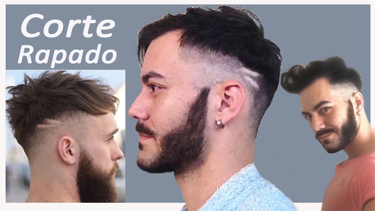 Corte De Cabello Para Hombre Rapado Fade Gus Marciano Youtube - Peinados-rapados-hombre