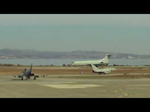 RAF VC10 Take-off at RAF Akrotiri, Cyprus