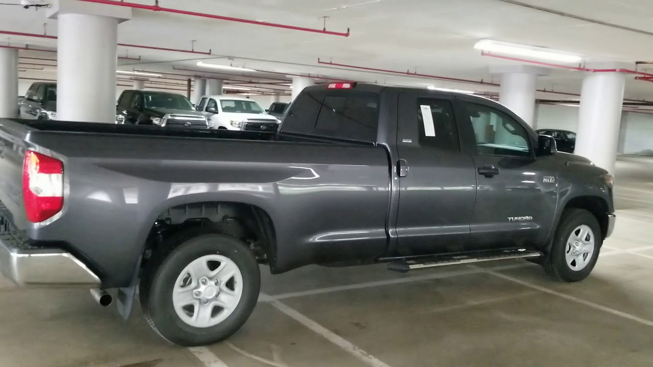 2018 Toyota Tundra Double Cab Long Bed Youtube