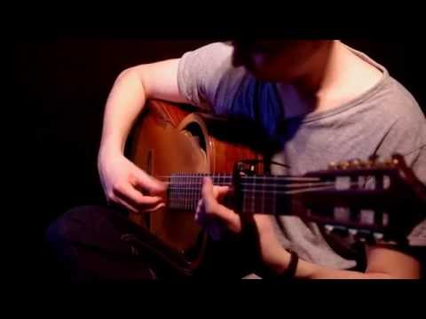 Celtic Guitar Music - Child of the Highlands (by Adrian von Ziegler) Acoustic Guitar Cover