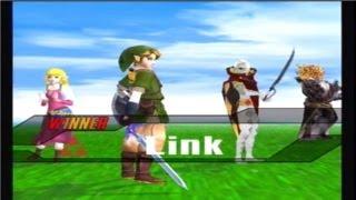 [SSBB Hacks] Link, Zelda, Demise, and Ghirahim!