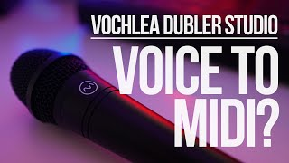LIVE Voice to Midi? Vochlea Dubler Kit Unboxing / First Look
