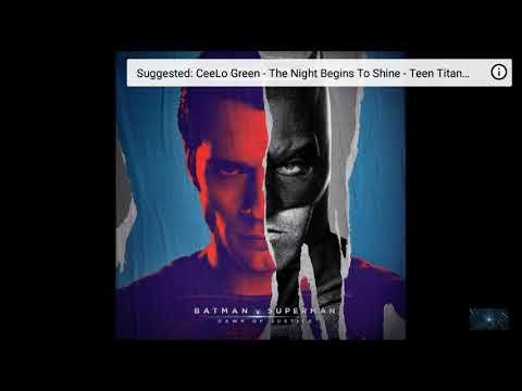 OFFICIAL - Black and Blue - Batman v Superman Soundtrack - Hand Zimmer & Junkie XL
