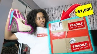 BUYING A MYSTERY BOX OFF THE DEEP DARK WEB!!