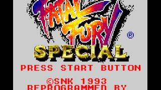 Game Gear Longplay [055] Fatal Fury Special