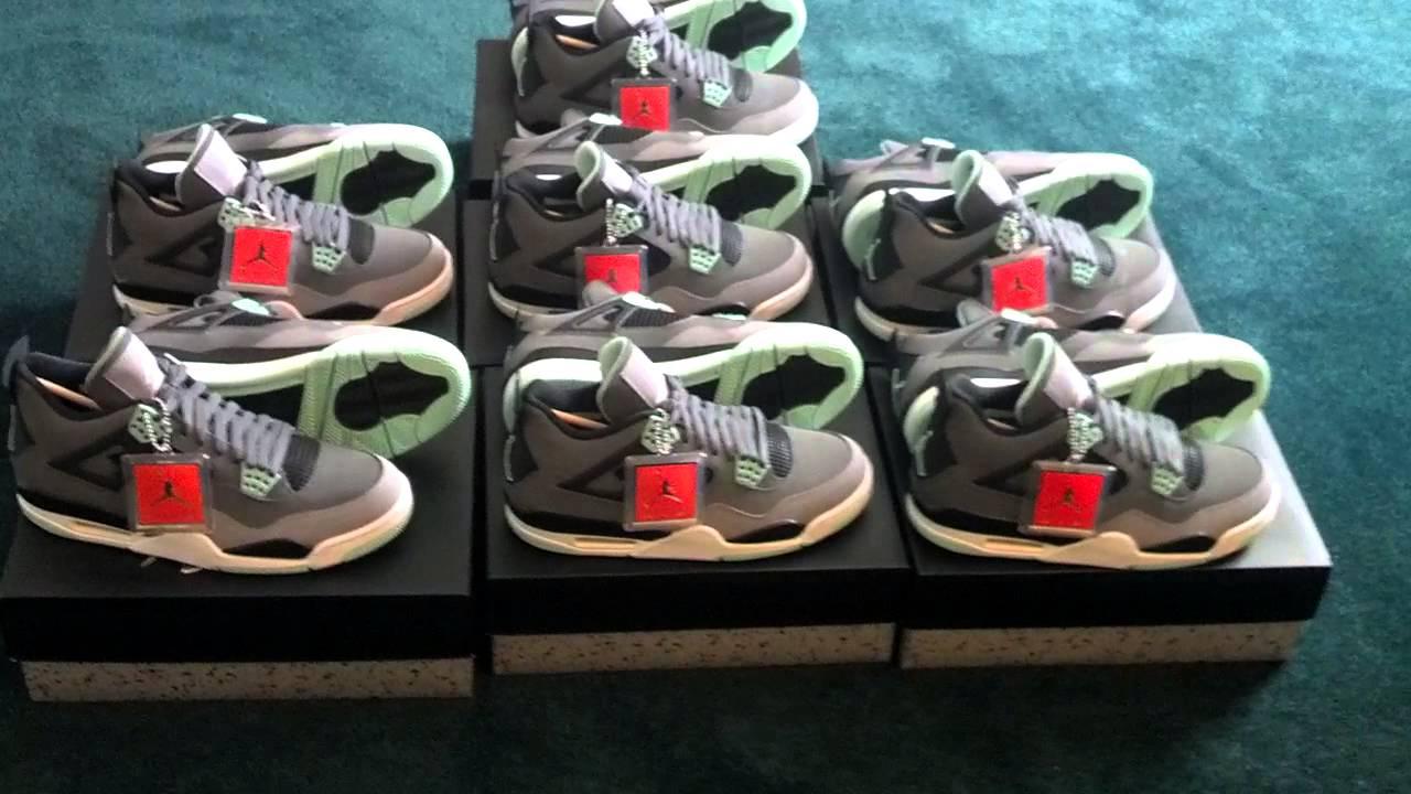 huge discount 7c575 0c799 Air Jordan Green Glow 4s for sale! PhillyFreshKicks15