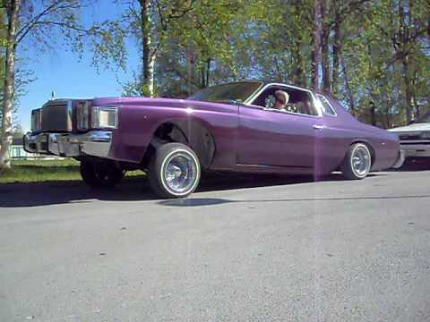 24 Hours Of Lemons >> Lowrider (chrysler cordoba) Östersund. - YouTube