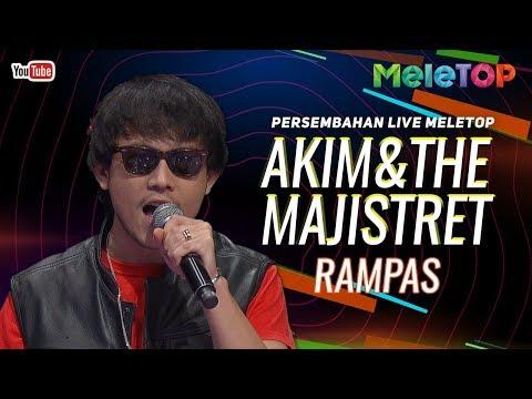 Akim & The Majistret - Rampas | Persembahan Live MeleTOP | Nabil &  Elly Mazlein