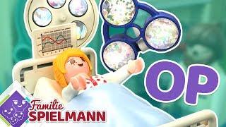 OMG! Warum muss Mama ins Krankenhaus? Playmobil Familie Spielmann Geschichten für Kinder