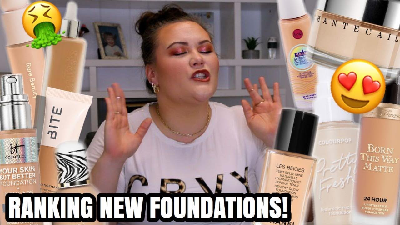 RANKING NEW FOUNDATIONS- WHAT I LOVE AND WHAT I DON'T!