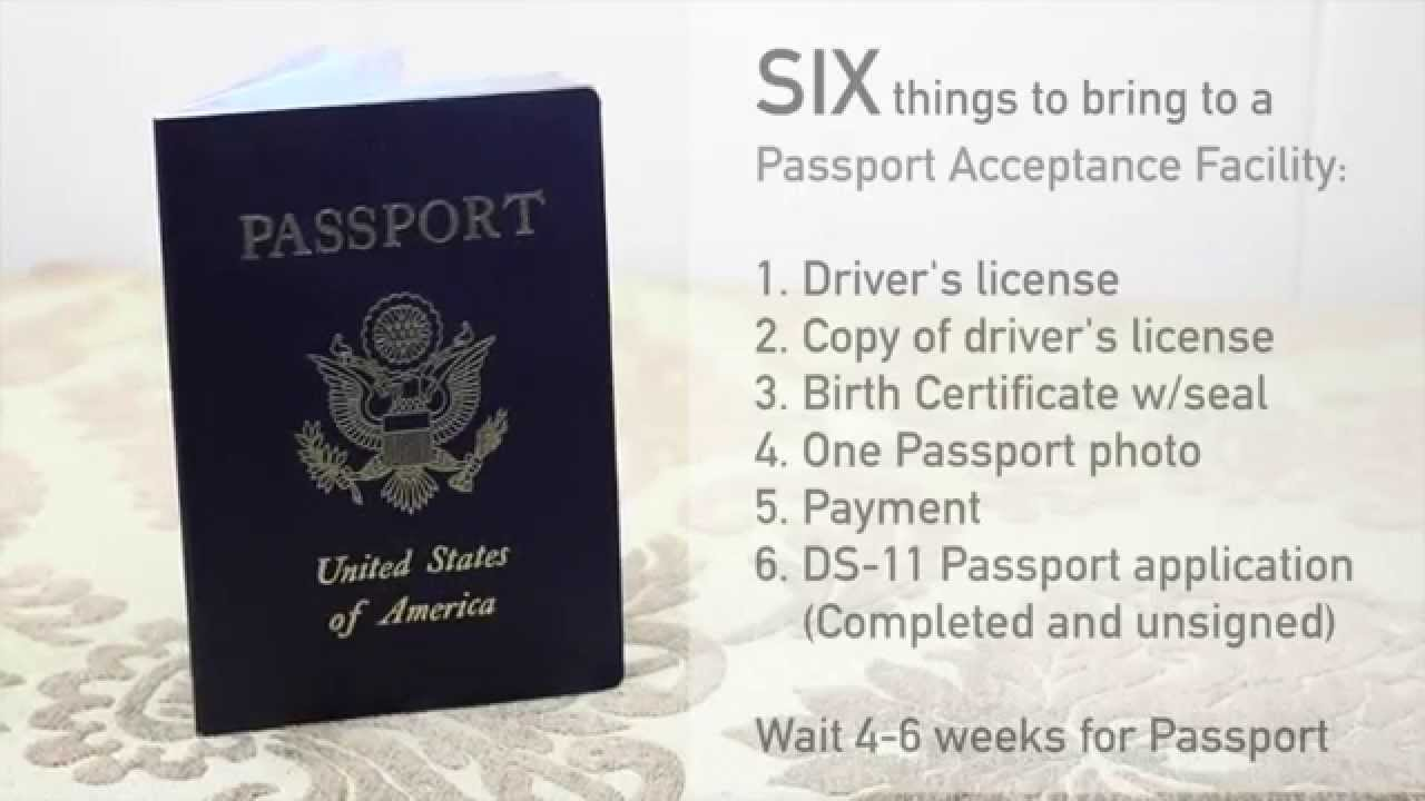 Travel tips how to get a passport youtube 1betcityfo Gallery