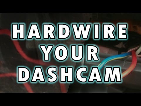 How To Hardwire A Dashcam / Dashboard Camera - By VOG (VegOilGuy)