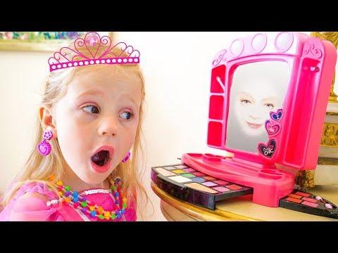 Nastya والمرآة السحرية