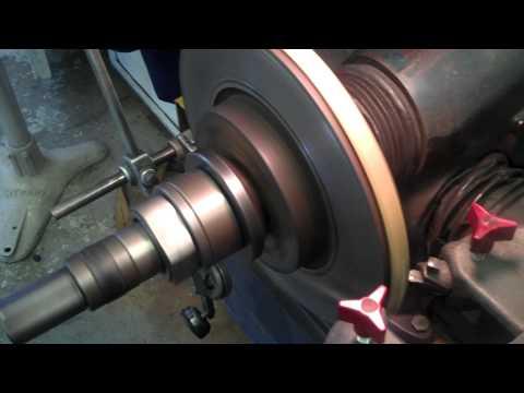 Brake Lathe Rotor Refinishing
