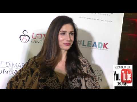 Shoshannah Stern at the Nyle DiMarco Foundation Kicks Off Love And Language Campaign at the Sofitel