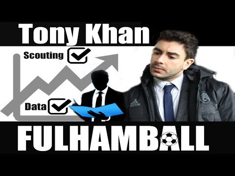 Tony Khan | Fulham FC analytics maestro | Shahid Khan son